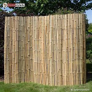 Sichtschutzzaun Bambus Holz : sichtschutz sichtschutzzaun bambuszaun holzzaun bambusmatte gartenzaun 200x200 4251285304086 ebay ~ Markanthonyermac.com Haus und Dekorationen