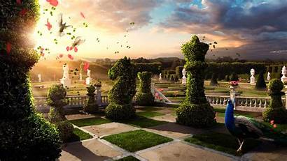 Surreal Backgrounds Wallpapers Garden Surrealism Cool Chess