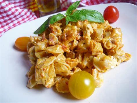 recette poulet au pot recette one pot pasta au poulet