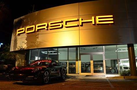 Swung By The Porsche Dealership Last Night As I Was Doing