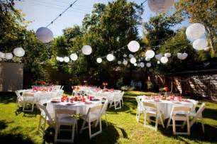 backyard wedding backyard wedding decoration ideas marceladick