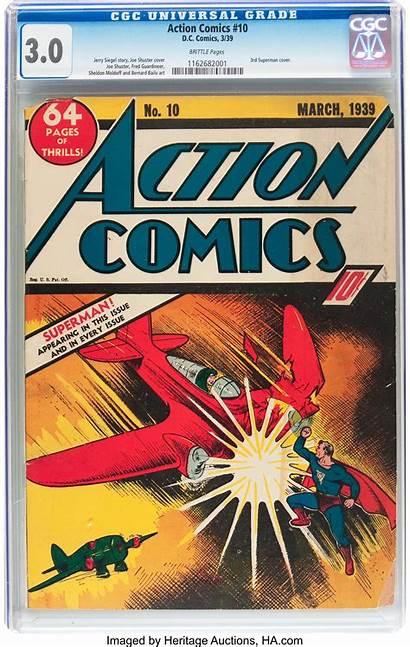 Action Comics Pages Vg Brittle Cgc Url