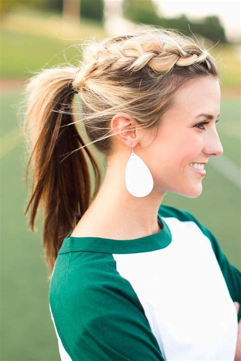 best ponytail hairstyles for girls 2018 short and mid