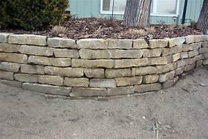 Limestone Retaining Wall - Floors & Doors   Interior Design
