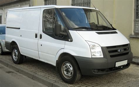 ford transit   pictures information