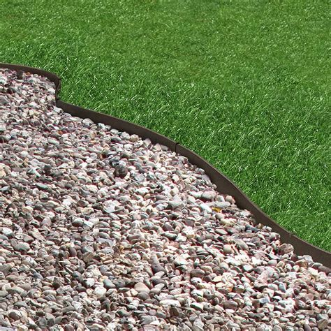 recycled rubber flexible lawn edging thinline hcm  sale