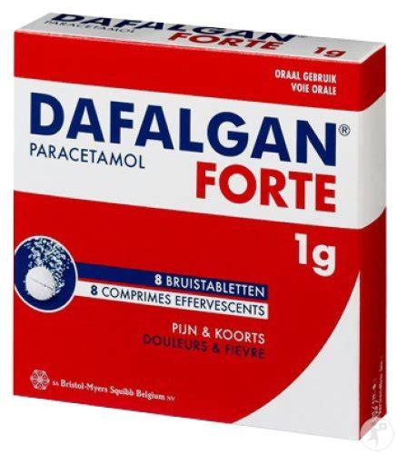 Dafalgan Forte 8 Bruistabletten 1g: Hier Online Bestellen!