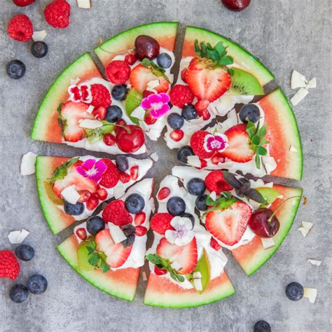 cuisine traditionnelle russe the watermelon pizza that is so healthy and delicious that