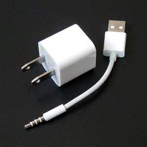 iPod Shuffle 3rd Generation Charger