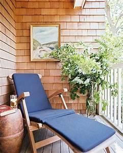 Chaise Longue Balcon : am nager son jardin sur le balcon pourquoi pas ~ Teatrodelosmanantiales.com Idées de Décoration
