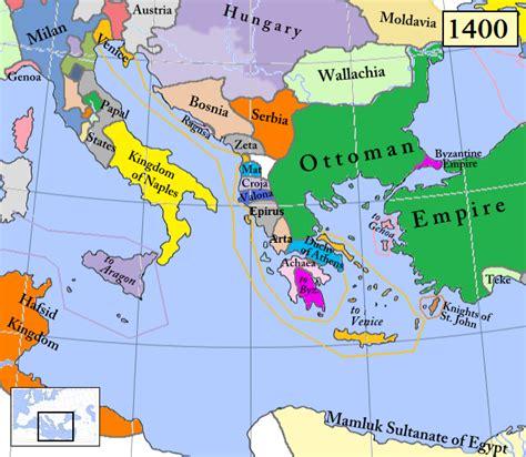 Ottoman Empire 1400 by Principality Of Valona