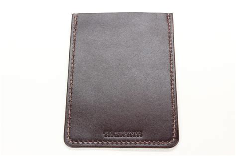d7bc802689d4 Cozy Leather Pouch Minimalist Wallet Handmade Card Holder - Handmade ...