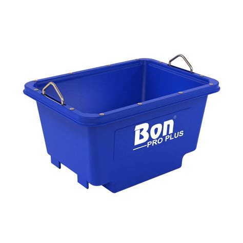 crane tubs bon tool polyethylene crane lift mortar tub 21 237 the