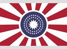 Centered US flag redesign vexillology