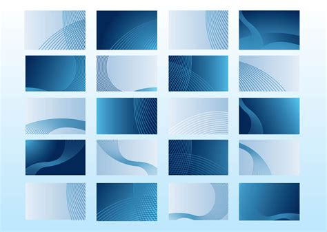 blue business cards vector art graphics freevectorcom