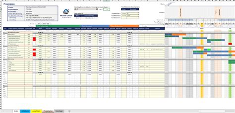 Excel Projektplanungstool Pro zum Download