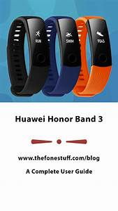 Huawei Honor Band 3 User Manual  A Complete Guide