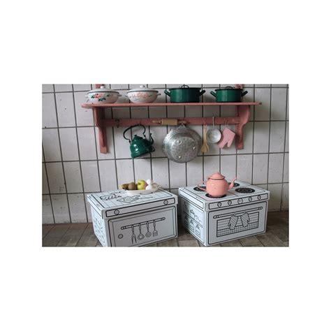boite cuisine set de 2 boites de rangement cuisine en à colorier