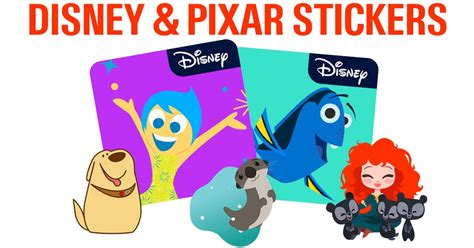 Disney Pixar Stickers For Ios10 Messages App Review
