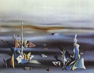 Yves Tanguy, The Five Strangers   Yves Tanguy (Surrealism ...