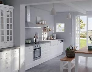 cuisine meuble blanc homeandgarden With peindre meuble en blanc