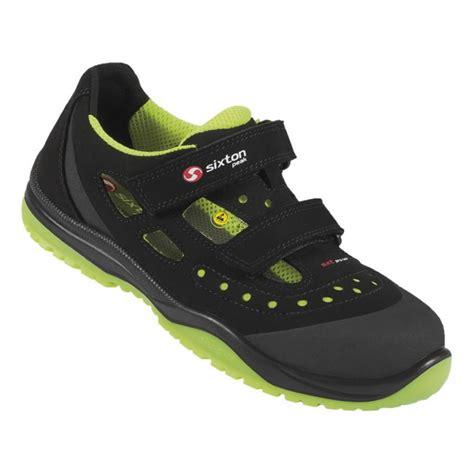 Darba sandales Meneito Ritmo, melnas/dzeltenas, S1P ESD ...