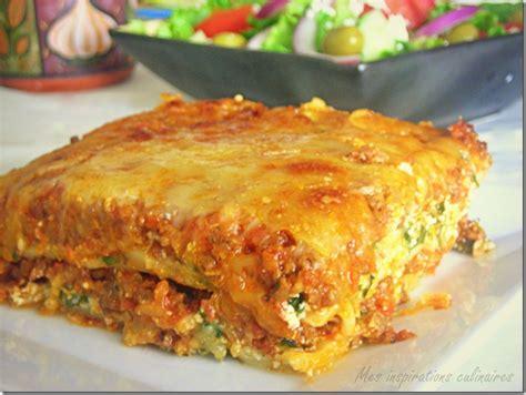 cuisine lasagne facile lasagne à la bolognaise recette facile le cuisine