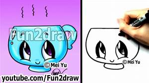 Kawaii - Easy Cute Things to Draw for Beginners - Cup | I ...