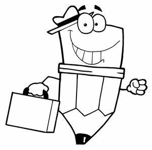 Back To School Clip Art Black And White - ClipArt Best
