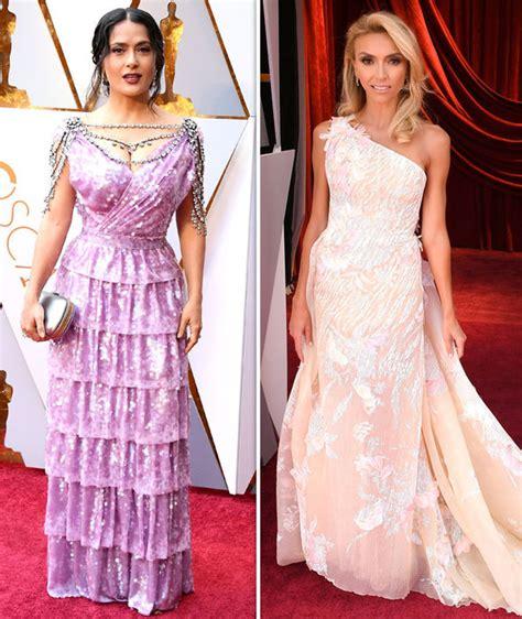 Oscars Red Carpet Celebrity Fashion Fails See Boob