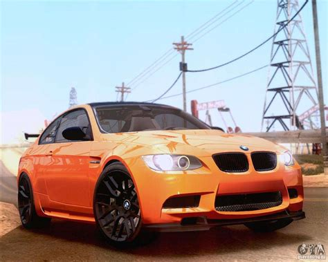 Mod Bmw S by Bmw M3 Gt S 2011 For Gta San Andreas