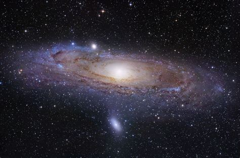 Andromeda Galaxy Ringed By Pancakelike Structure Dwarf