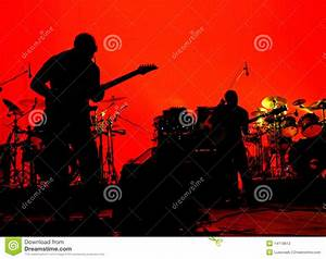 Rock Band Stage Stock Photography - Image: 14119612