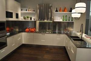 15 cocinas modernas con gabinetes color blanco With kitchen colors with white cabinets with glitter wall art for sale