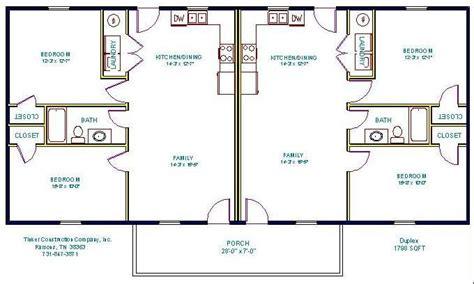 Bedroom Bath Duplex Floor Plans Pictures by Simple Small House Floor Plans Floorplan Duplex Duplex