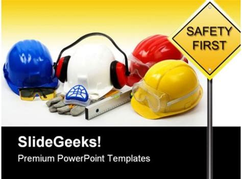 safety concept construction powerpoint backgrounds