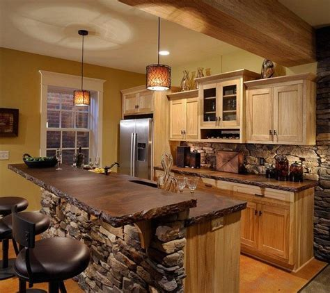Kitchen Island Designs Rustic by Easy Ways To Achieve The Rustic Kitchen Look Decor