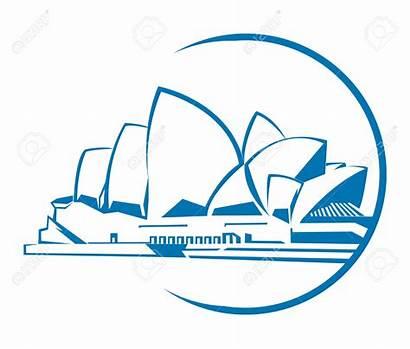 Opera Clipart Sydney Symbol Building Australia Depositphotos