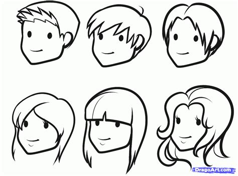 draw faces  kids step gif