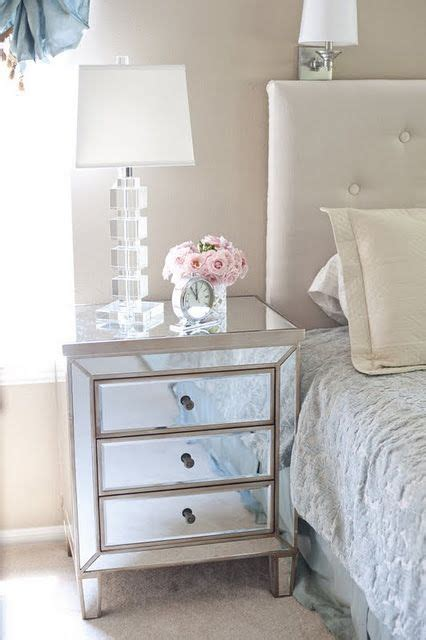 What To Put In A Nightstand by Trying To Figure Out What L To Put On A Mirrored