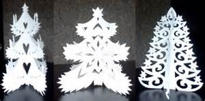 kirigami christmas trees paper cut by staceysmile on deviantart