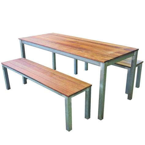Outdoor Bench Seats by Garden Outdoor Table And Bench Set Apex