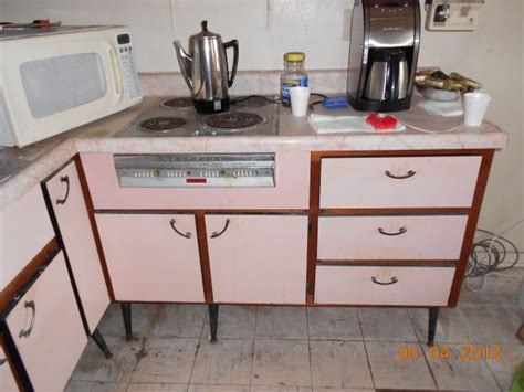 cabinets to go stuart fl pink 1959 hotpoint kitchen complete with cabinets