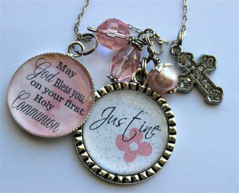 gifts for communion girl personalized holy communion gift childrens name