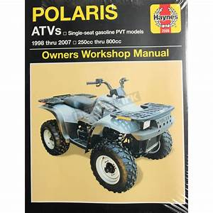 2000 Polaris Scrambler 400 Service Manual