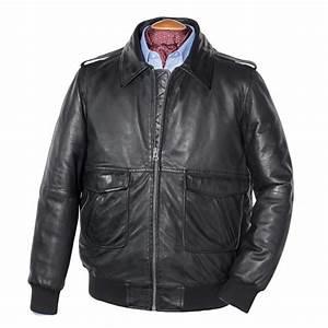 Blouson Cuir Aviateur Homme : blouson cuir aviateur acheter manteaux vestes l 39 homme ~ Dallasstarsshop.com Idées de Décoration
