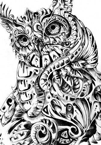 Pin by Kvrt Eissmann on AWAY | Owl tat, Tattoo designs, Owl art