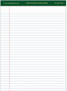 custom legal pads and letter pad manufacturer With custom letter pads