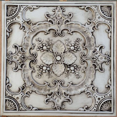 faux metal ceiling tiles pl19 faux tin countryside style ceiling tiles decorative