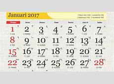 Kalender islami 2017 dengan kalender hijriyah 1438 H